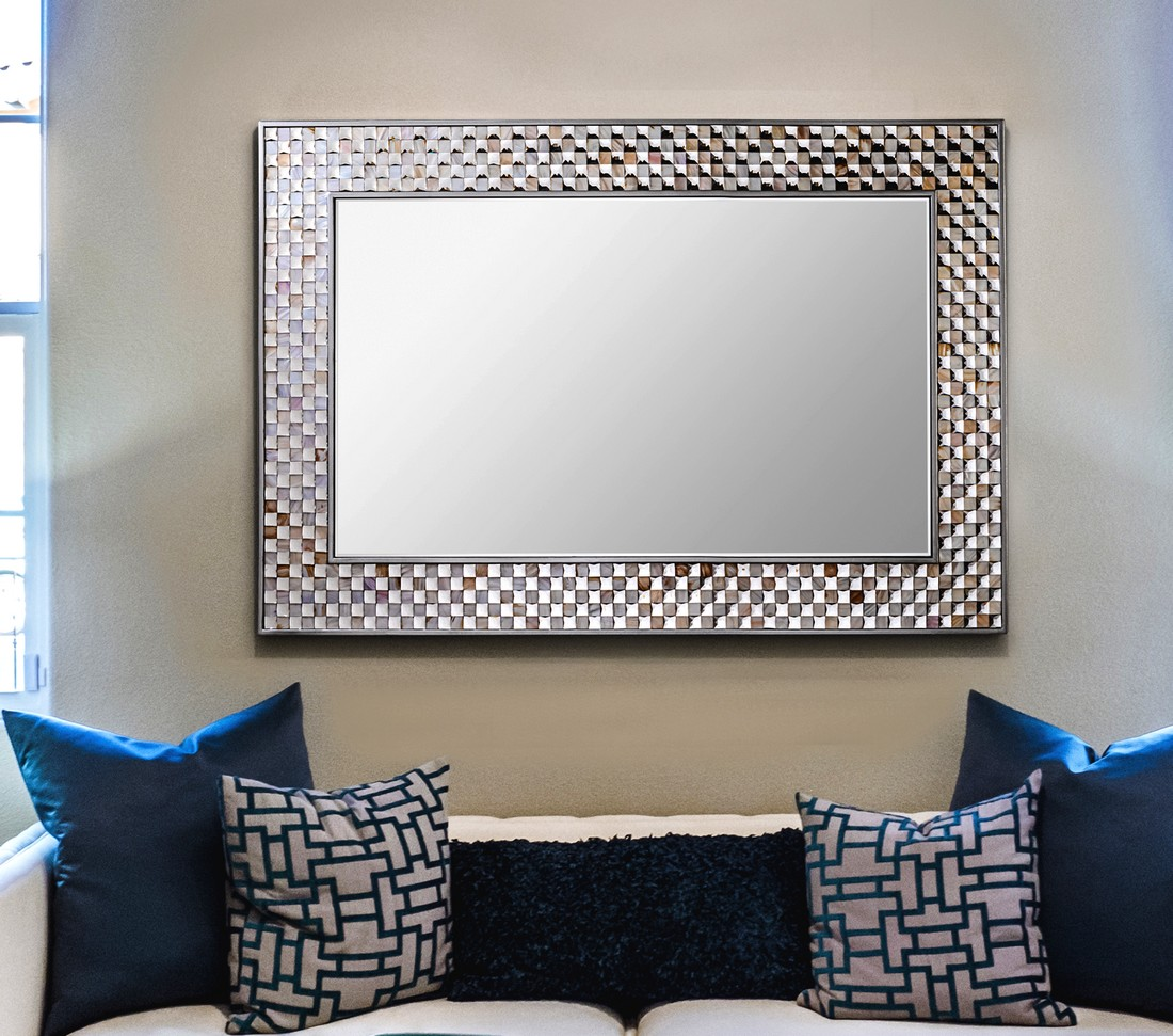 espelhos retangulares