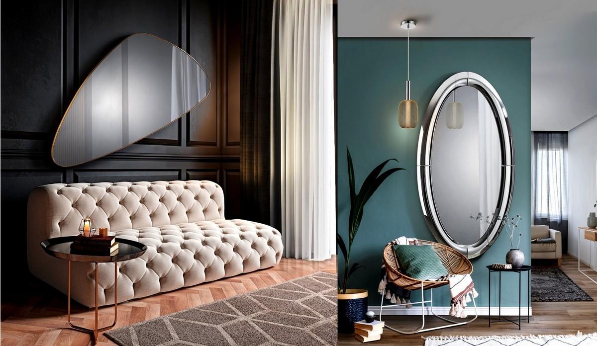 Espelhos Modernos